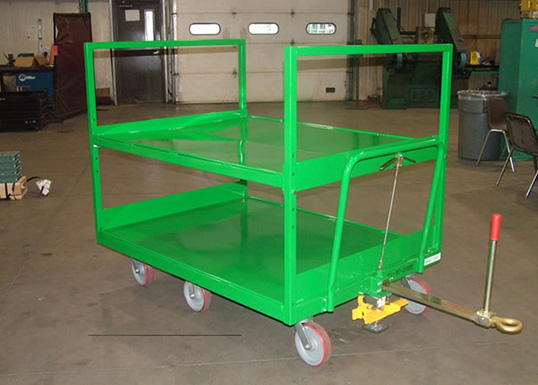 two shelf trailer