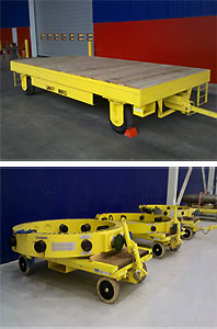 Heavy Duty Warehouse Trailers