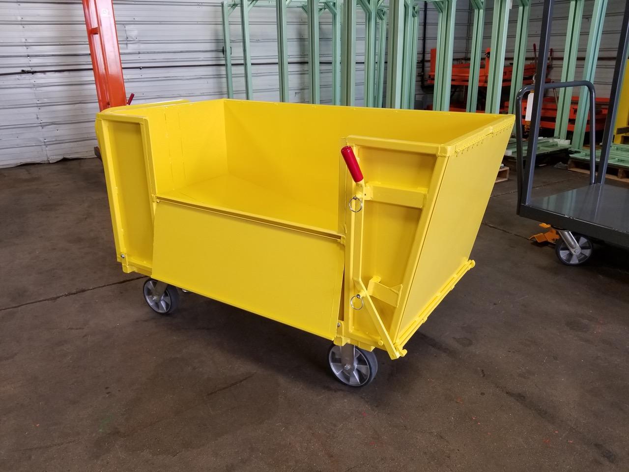 Custom Industrial Trailer - Material Handling Specialist