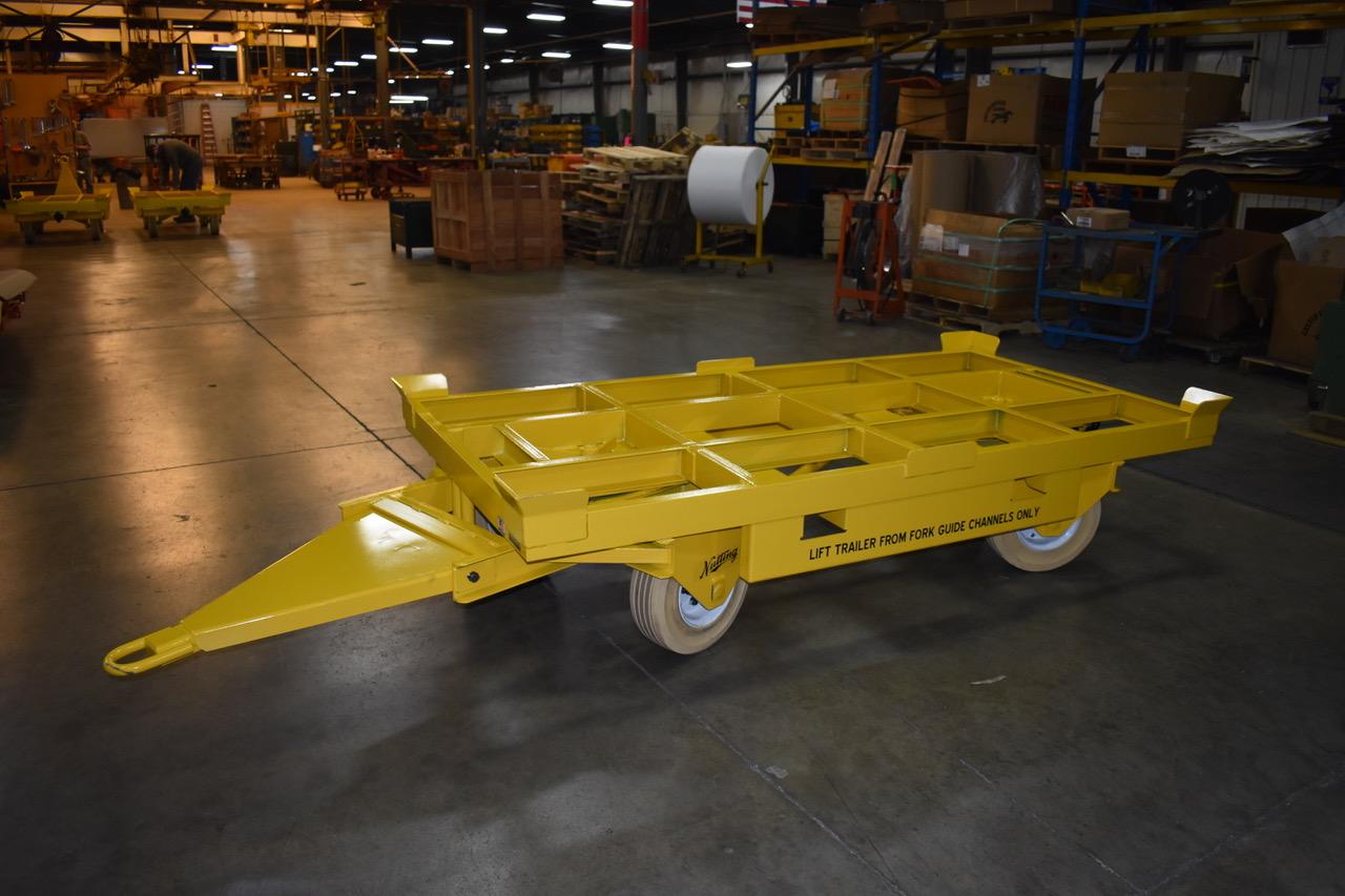 Fifth Wheel Steer Trailer - Material Handling Specialists - Industrial Trailers