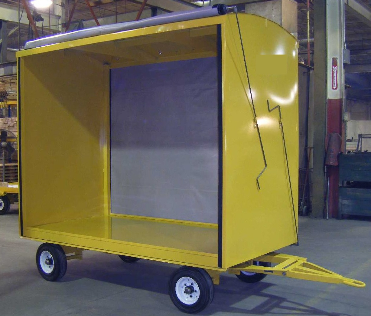 Covered Industrial Cart
