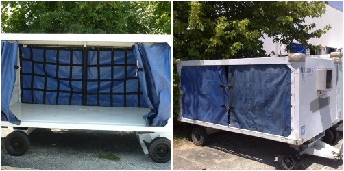 enclosed industrial trailer