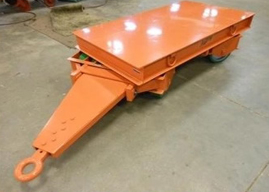 front steer industrial trailer