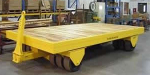 heavy duty industrial warehouse trailer
